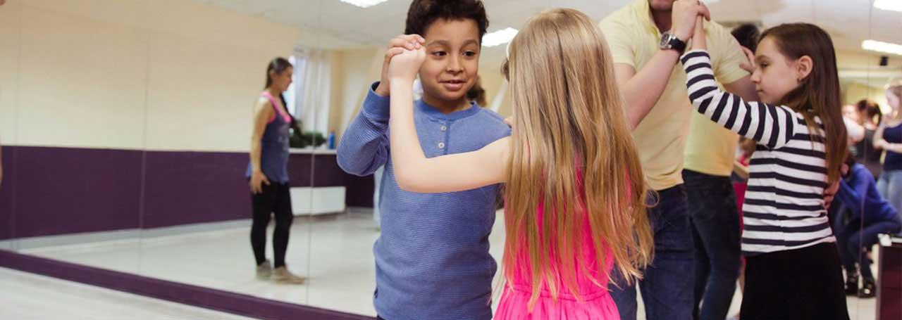 Уроки танца Сальса для детей в СПб