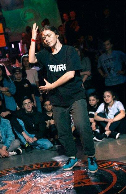 Преподаватель танцев по направлению Паппинг